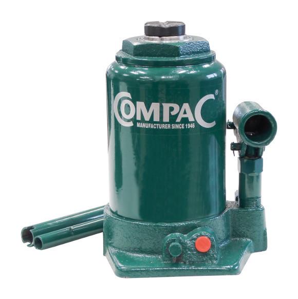 Cric bouteille hydraulique Telescopique 10 Tonnes Fonte -S13029 - Compac
