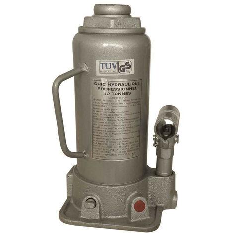 cric hydraulique 12t -ce- gris