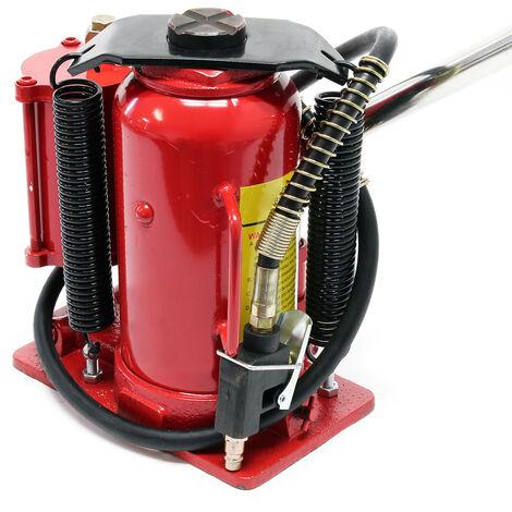 Cric hydraulique 12T Cric bouteille Levage automobile Pneumatique Atelier Manutention Auto Garage