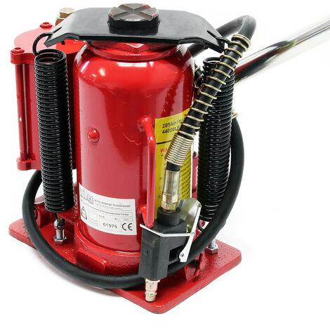 Cric hydraulique 20T Cric bouteille Levage automobile Pneumatique Atelier Manutention Auto Garage