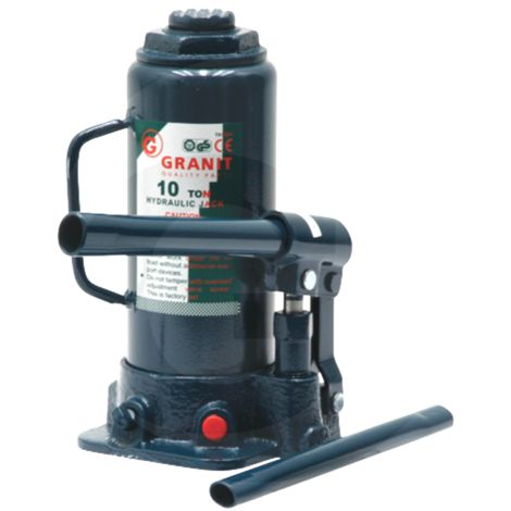 Cric hydraulique bouteille 10t Adaptable