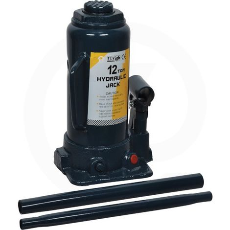 Cric hydraulique bouteille 12t Adaptable
