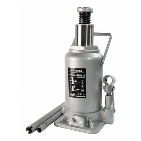 Cric hydraulique bouteille 20T - AUTOBEST 165 mm