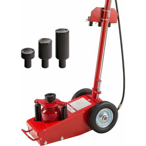Cric Hydraulique Cric Jack Professionnel Cric Hydraulique Roulant Cric Rouleur - rouge