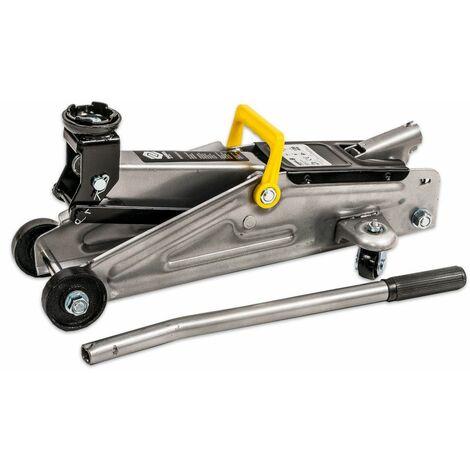 Cric hydraulique d'atelier 2 Tonnes Ht. 130 à 350 mm - Normes TUV - CE - 6678 - Maan