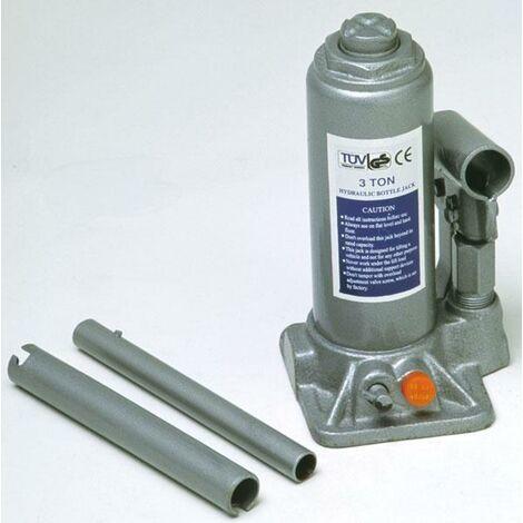 Cric hydraulique piston 3 tonnes