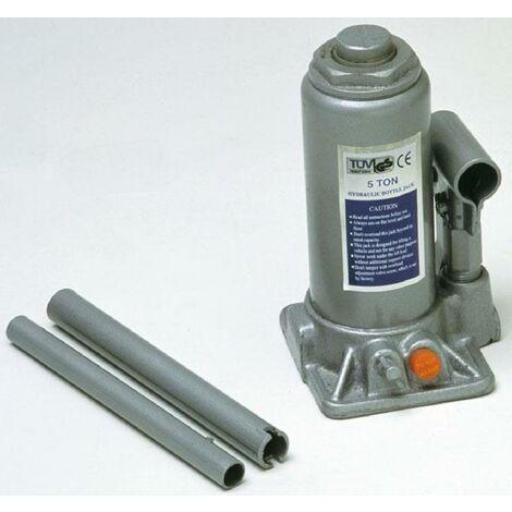 Cric hydraulique piston 5 tonnes