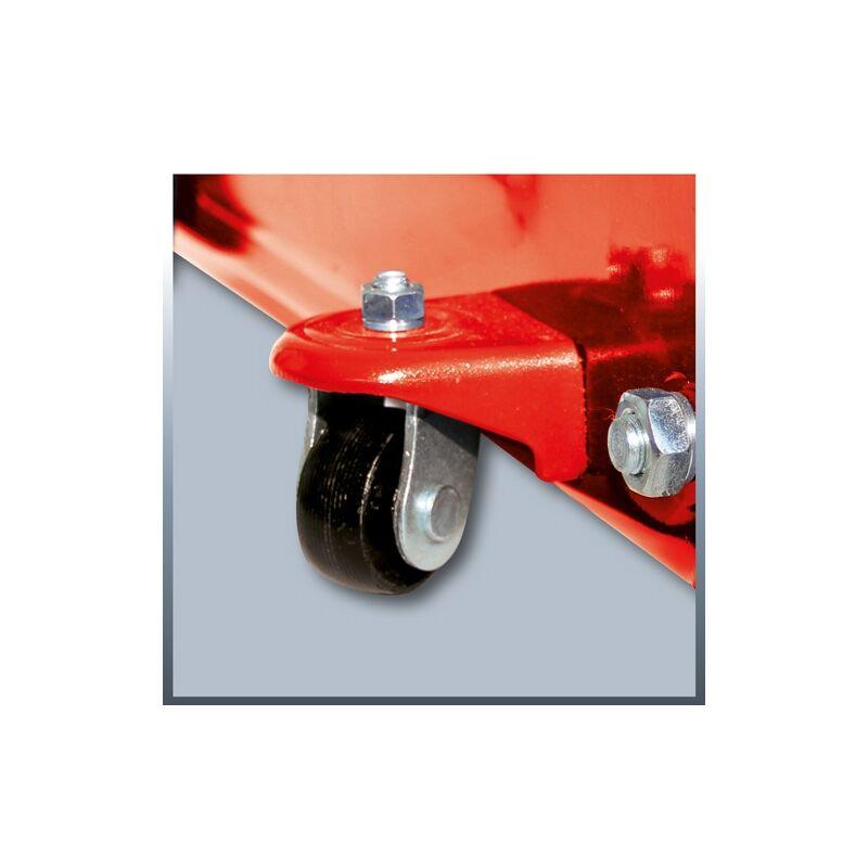 Cricchetto sollevatore a carrello x auto crick cricco idraulico 2000 Kg Einhell