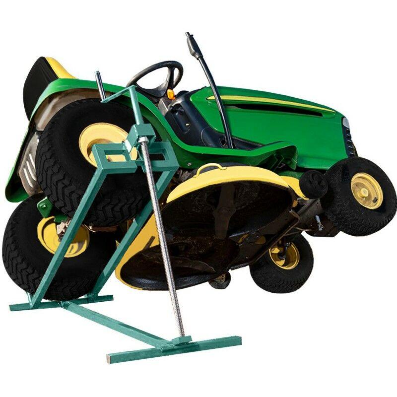 Cric Leve Tracteur Tondeuse 400 Kg