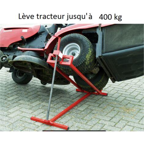 Cric léve tracteur / tondeuse 400kg WC