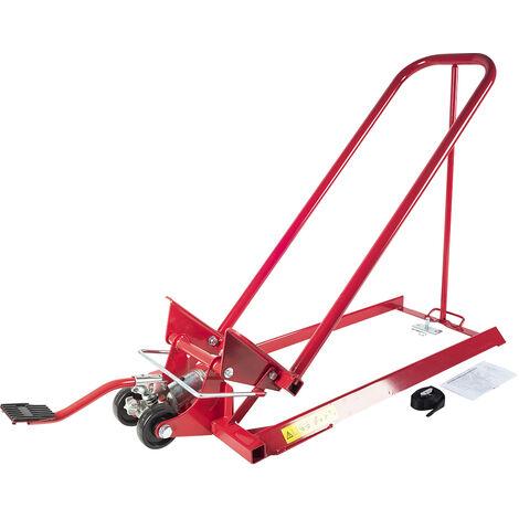 Cric lève tracteur tondeuse autoportée - capacité jusqu'à 300kg