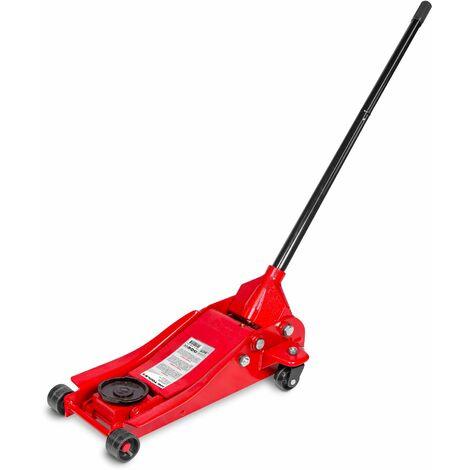 Cric rouleur hydraulique 2,5t extra bas MW-Tools CAT25TL