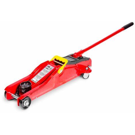 Cric rouleur hydraulique 2t - extra bas MW-Tools CAT2L