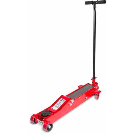 Cric rouleur hydraulique 3t long et bas MW-Tools CAT3TLL