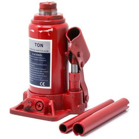 Cric idraulico sollevatore manuale da 5 Ton a pressione martinetto auto furgoni