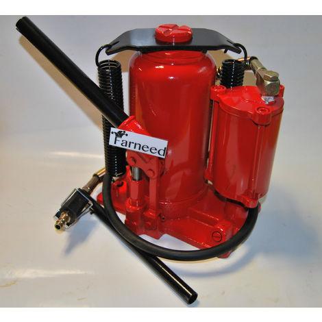 Martinetto Idraulico Ad Aria.Crick Pneumatico Aria 20 Ton Bottiglia Idraulico Compressore Martinetto 2 Funzio