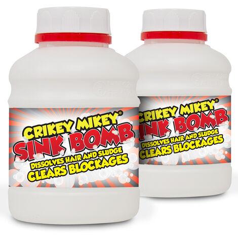 Crikey Mikey 'G Whizz It's Sink Fizz' Sink Unblocker 2x500g