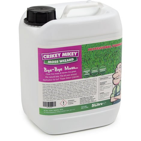 Crikey Mikey Moss Wizard 5 Litres