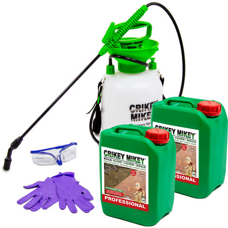Crikey Mikey Outdoor Cleaning Wizard Professional 10L Cleaning Kit