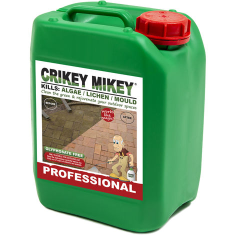Crikey Mikey Outdoor Cleaning Wizard Professional 5L Top-Up Container