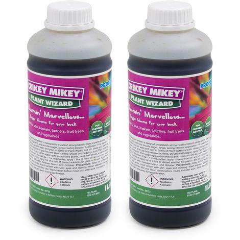 Crikey Mikey Plant Wizard 2 x 1 Litre Bottles
