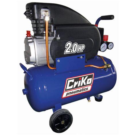Criko Kompressor 24L 2CV Öl