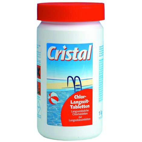Cristal Chlor-Langzeit-Tabletten Chlortabletten 1 kg 1136181