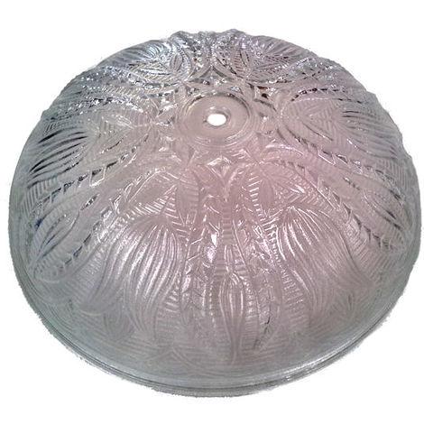 """main image of """"Cristal de recambio tallado ø25cm. para plafón redondo (28035)"""""""
