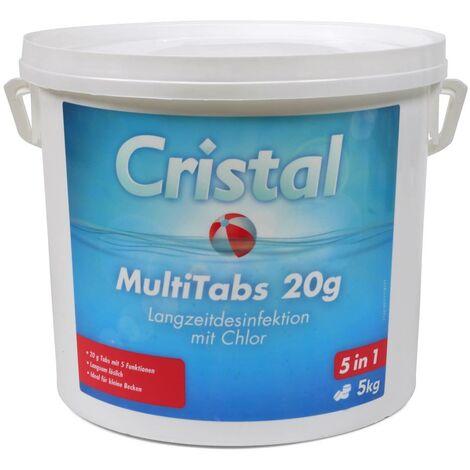 CRISTAL MultiTabs Chlor 5 in 1 (20g) 5,0 kg