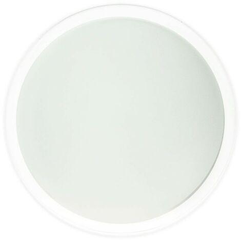 Cristal recambio downlight 18,4 cm mate.