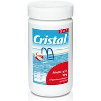 Cristal Wasserpflege Desinfektion Multi Tabs 5in1 Inhalt 1kg