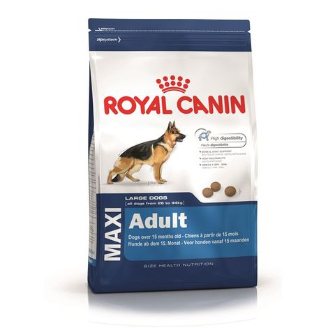 Crocchette cane royal canin maxi adult 15kg con 3kg omaggio