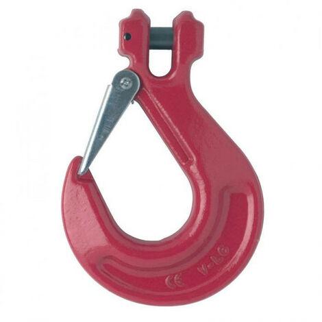 Crochet à chape à linguet de sécurité grade 80 - plusieurs modèles disponibles
