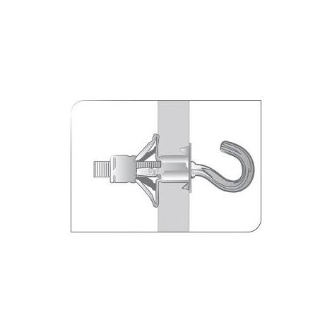 Crochet à embase métal CAE (boîte) SCELL-IT - plusieurs modèles disponibles