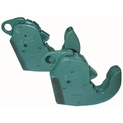 Crochet d'attelage automatique pour bras de relevage arrière ou avant inférieur à souder - CAT 3 - lot de 2 pièces