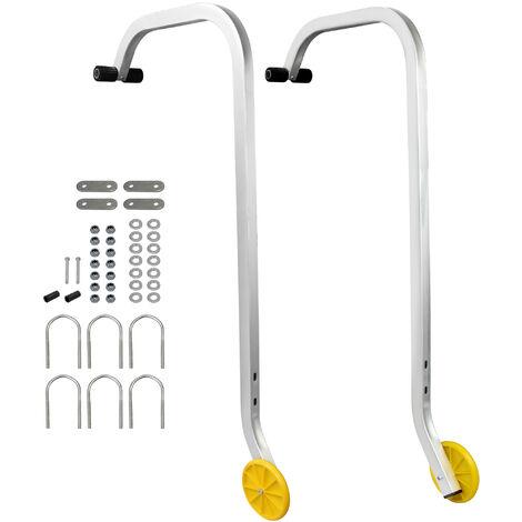 Crochet de Toit Universel pour Echelle, Adaptateur de Toit pour Échelle, 0,93 mètre(s), Charge maximale: 150 kg