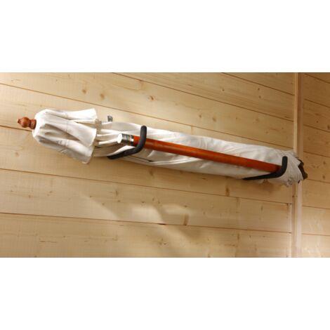 Crochet longueur 350mm - gainé - charge 40kg Mottez F102G