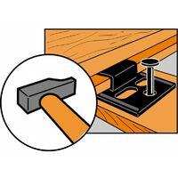 Crochet pour lambris bois 2 mm - Boîte de 250