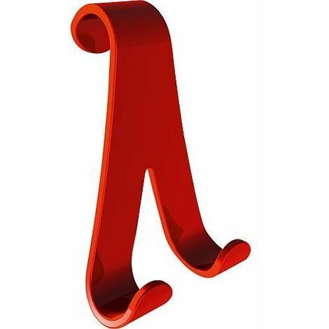 Crochet-serviette BiSnake rouge une pièce