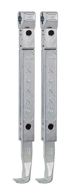 Kukko - Crochets d'extraction, Modèle : 1-250-P, Long. 250 mm, adapté à l'extracteur 20-1 20-10