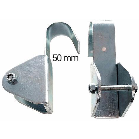 Crochets en acier pour échelle aluminium (vendus par paires) - FE011
