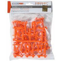 Crochets supplémentaires 24 pièces Werkapro
