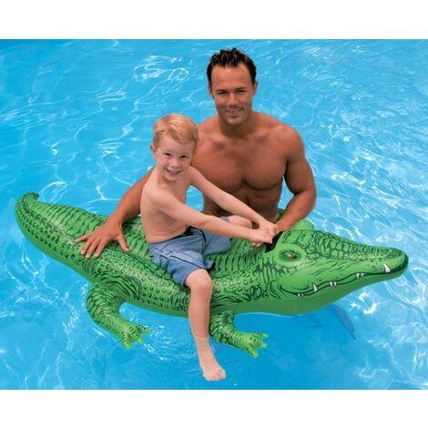 Crocodile gonflable Intex