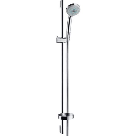 Croma 100 Shower set Multi EcoSmart 9 l/min with shower bar 90 cm and soap dish (27655000)