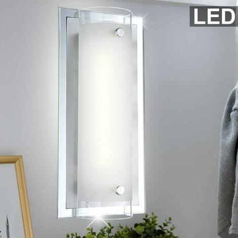 cromo de la iluminación de la lámpara espejo pared de borde lámpara de metal LED 3 Watt Wall Globo 48510-3