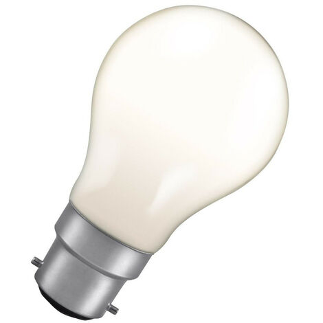 Crompton Lamps 25W GLS B22 Dimmable Colourglazed IP65 White