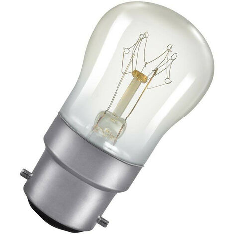 Crompton Lamps 25W Pygmy BC-B22d Dimmable 2800K Warm White Clear 175lm Crompton Lamps Pygmy BC Bayonet B22 Incandescent Sign Traditional Outdoor External Festoon Light Bulb