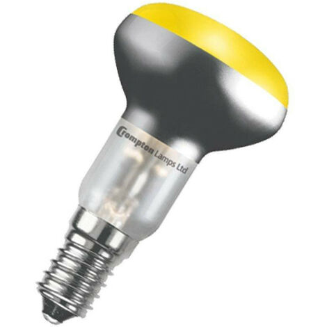 Crompton Lamps 25W R50 Reflector E14 Dimmable Yellow 100°