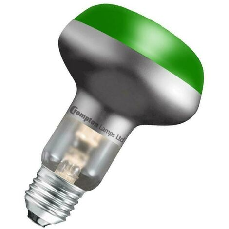 Crompton Lamps 40W R63/R64 Reflector E27 Dimmable Green 115°