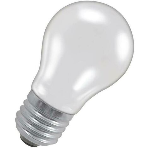Crompton Lamps 60W GLS ES-E27 Dimmable Traffic Signal 2700K Warm White Pearl 500lm Crompton Lamps GLS ES Screw E27 Incandescent A55 Traditional Opal Satin Light Bulb